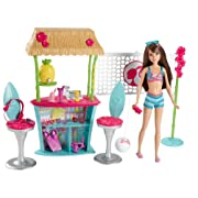 Barbie Sisters Skipper Doll and Tiki Hut Playset