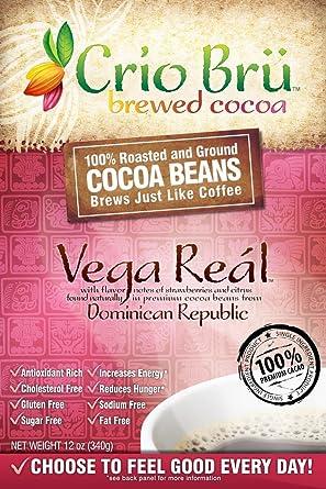 Crio Bru Cocoa Beans, Vega Real, 12 Ounce