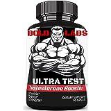 Testosterone Booster Extra Strength (90 Capsules) Supplement Testosterone Natural Ultra Testosterone Booster 90 Pills Combo Organic Testosterone Pills (Color: Black, Tamaño: 90)