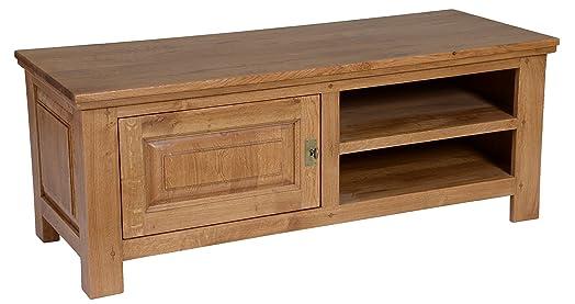 Mobile TV 16/9°, in legno di quercia