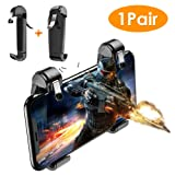 Meo Mobile Game Controller - Mobile Gaming Trigger for PUBG/Fortnite/Rules Sensitive Aim Shoot Game Joystick & Gamepad Compatible for iPhone/Android