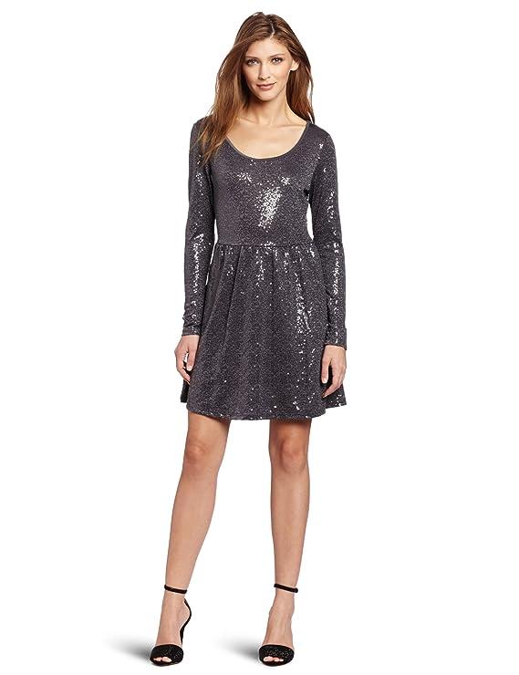 Kensie Women's Sequin Jersey Dress