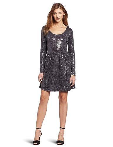 Kensie Sequin Dress
