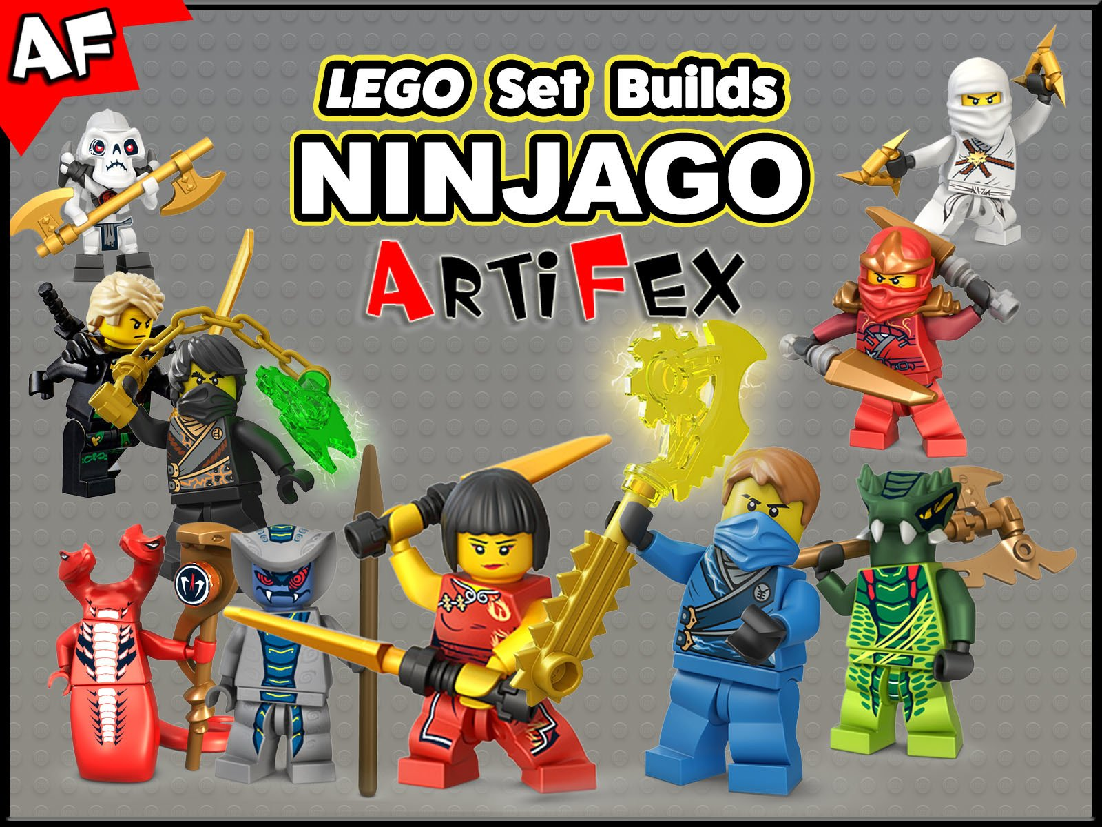 Clip: Lego Set Builds Ninjago - Season 5