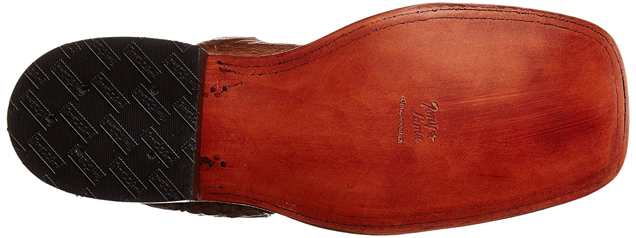 Tony Lama Men's Vintage Smooth Ostrich Western Boot 3
