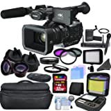 Panasonic AG-UX90 4K/HD Professional Camcorder with CINEMAGIC Studio Bundle