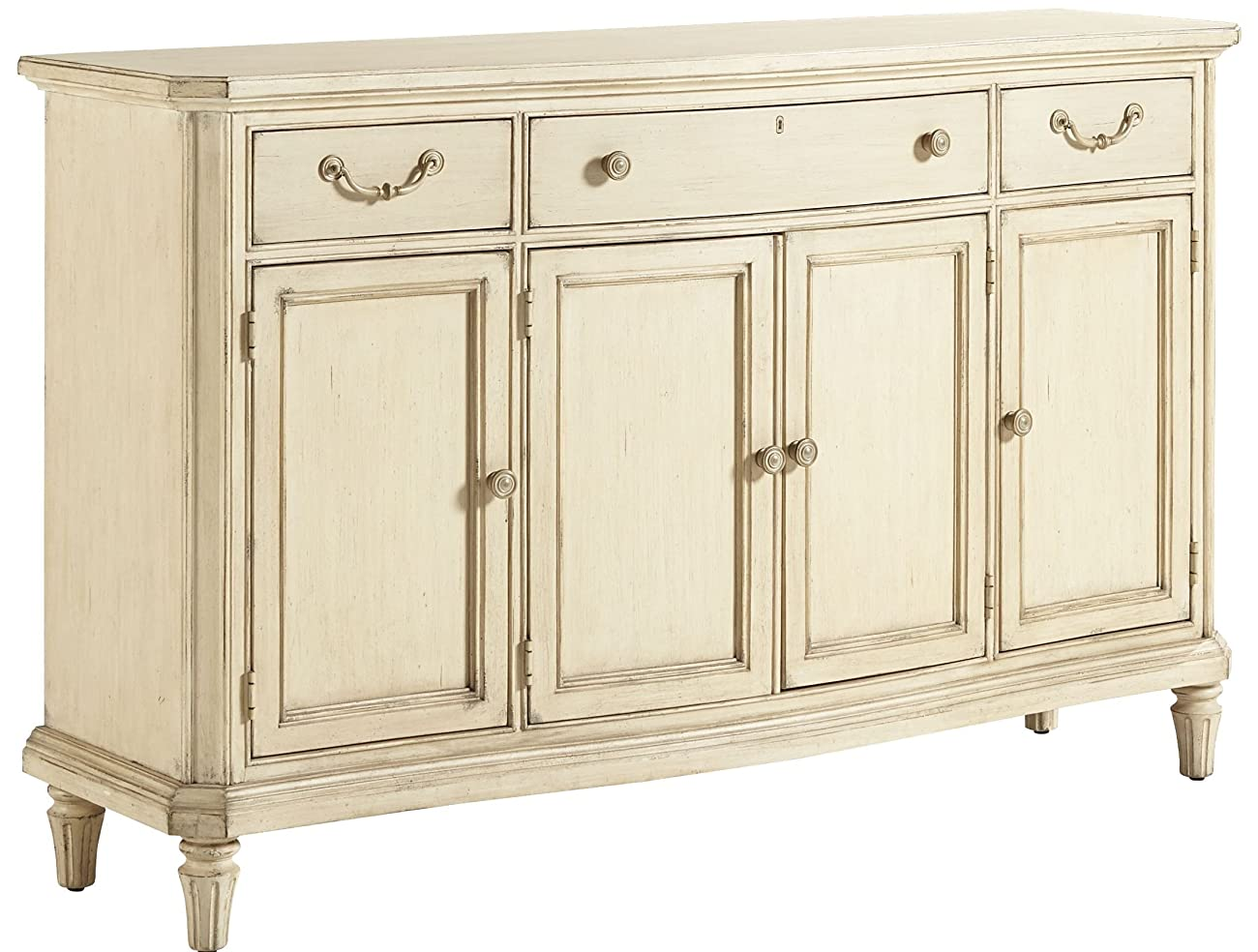 Stanley 007-21-05 European Cottage Buffet, Vintage White Finish 0