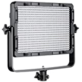 Neewer Dimmable Bi-Color 600 LED Video Light with U Bracket and Color Filter (White, Orange) for Studio, YouTube Outdoor Video Photography Lighting, 600 LED Beads, 3200-5500K, CRI 95+ (Color: orange white, Tamaño: 15.8 x 15.3 x 6.3 inches)
