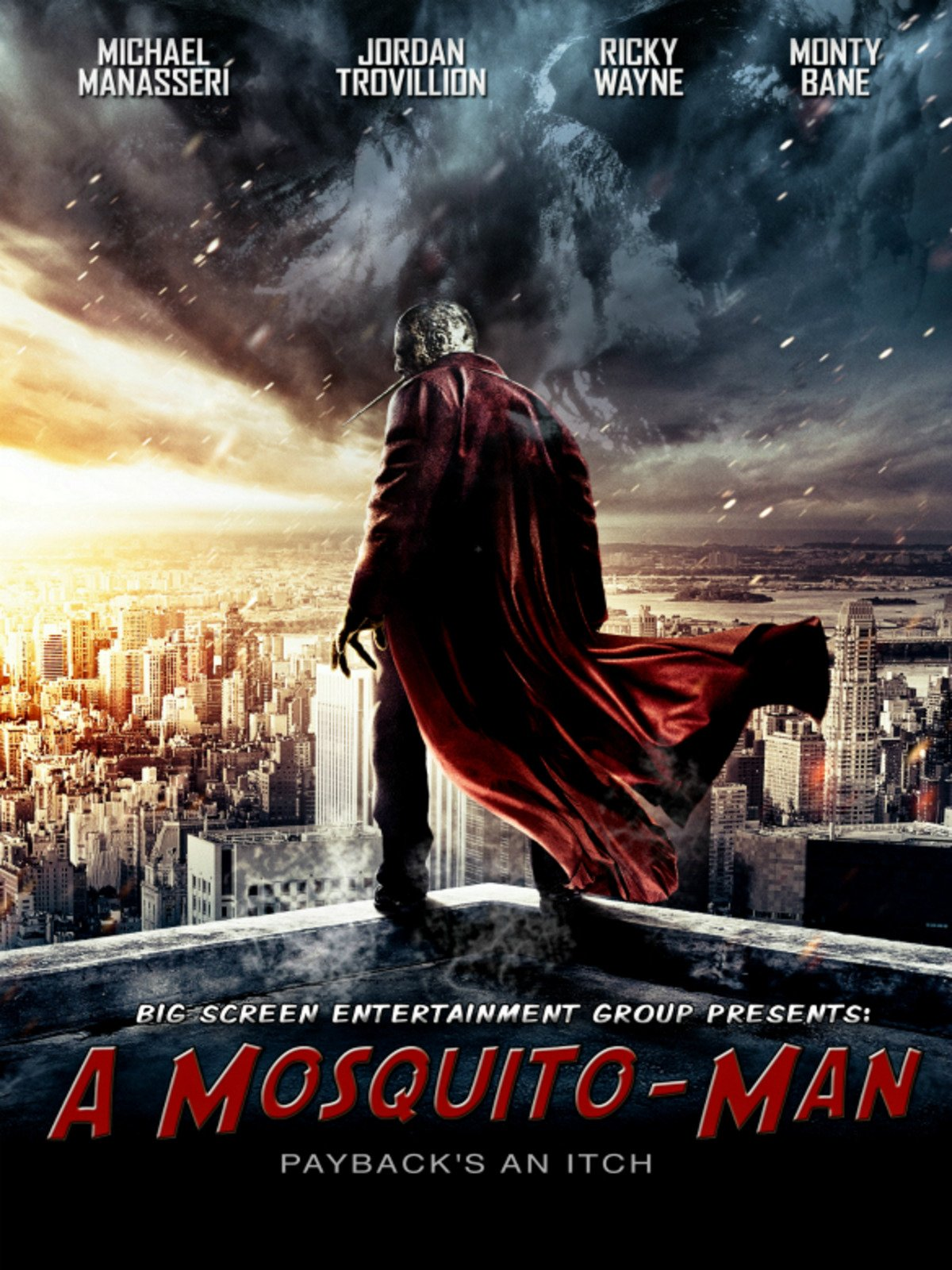 A Mosquito Man on Amazon Prime Instant Video UK