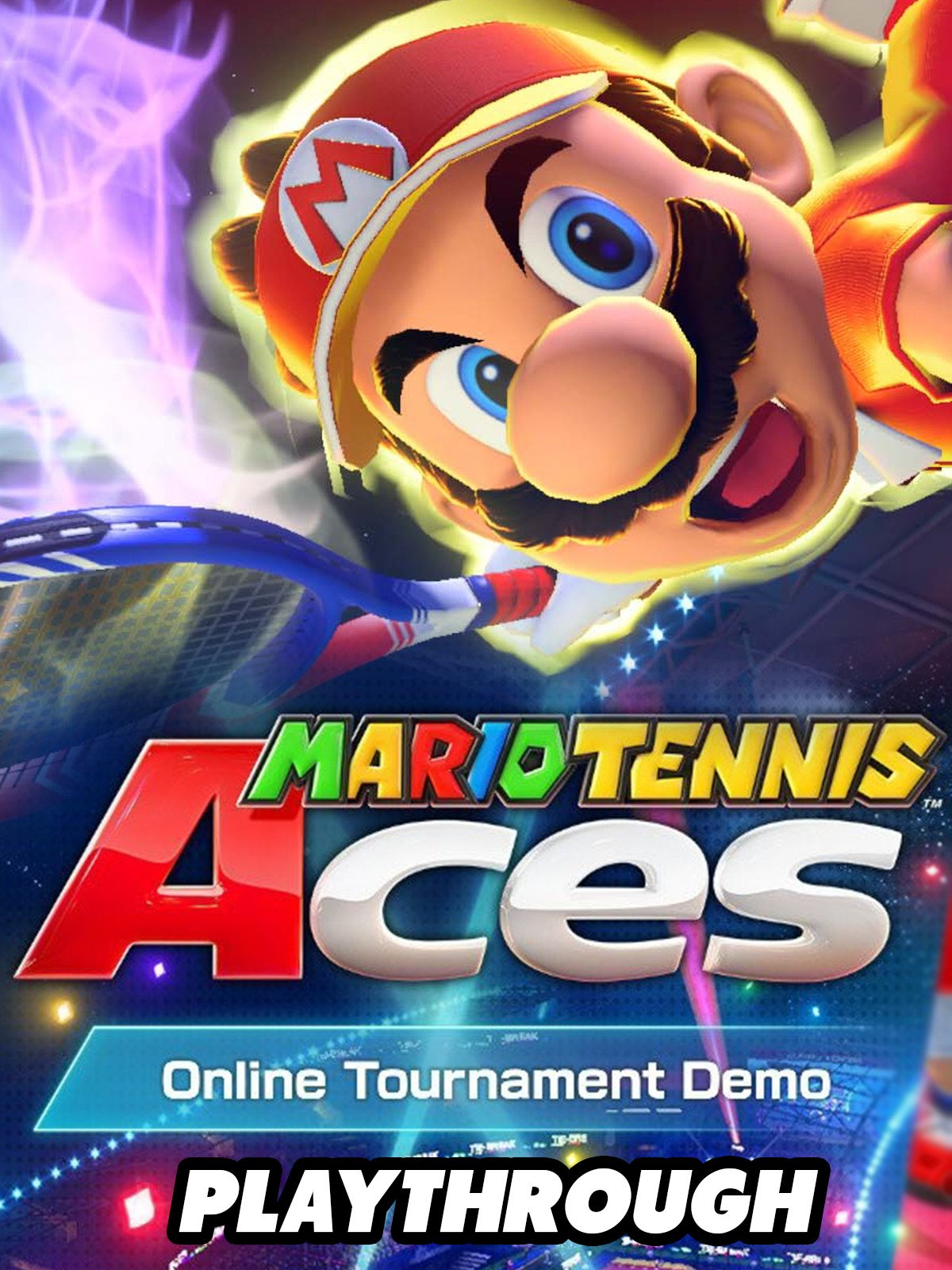 Clip: Mario Tennis Aces Demo Online Tournament Demo Gameplay