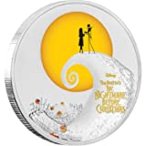2017 NU THE NIGHTMARE BEFORE CHRISTMAS-DISNEY 1 oz Silver Coin Proof Coin Halloween Gift $2 Perfect Uncirculated