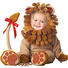 Lil Characters Unisex-baby Infant Lion Costume