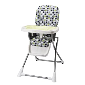 Evenflo Compact Fold High Chair, Lima (Discontinued by Manufacturer)