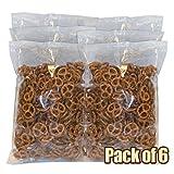 Snyder's of Hanover Mini Pretzels, 1 Pound Bulk Bags (Pack of 6)