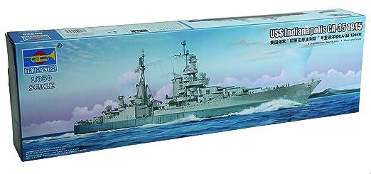 Trumpeter 05326modèle Kit de USS Indianapolis env. 351945
