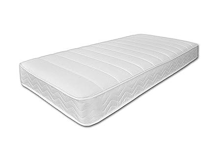 Colchón de memoria Revivo soportes para puertas de armario, blanco, para cama individual