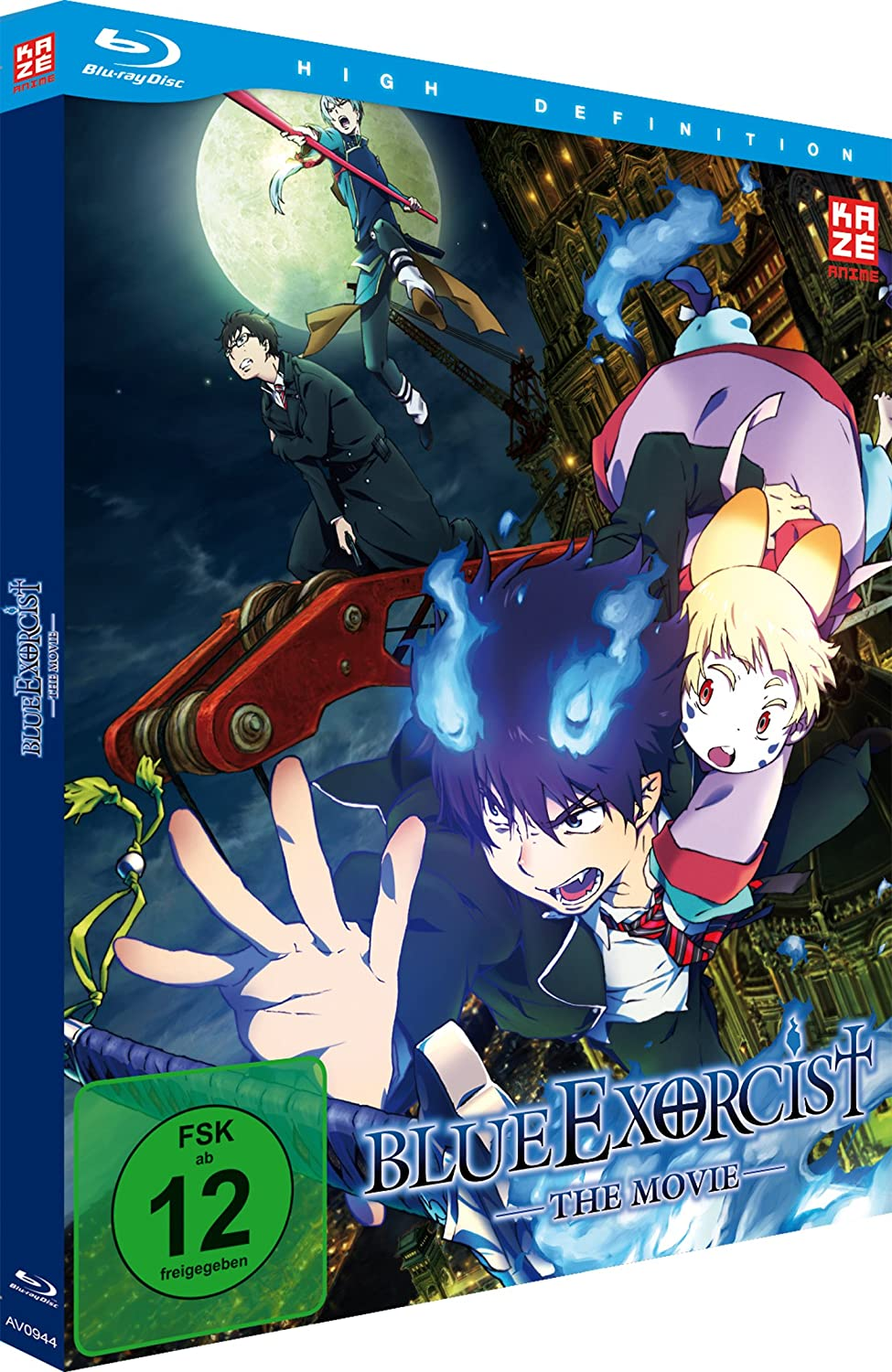 Blue Exorcist - The Movie, Blu-ray