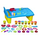 Play-Doh Play 'n Store Table, Arts & Crafts, Activity Table, Ages 3 and up (Color: Brown/a)