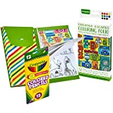 Crayola Creative Escapes Aged Up Coloring Folio with Pencils