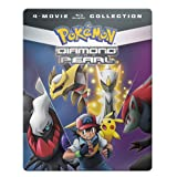 Pokemon Diamond & Pearl Movie 4-Pack [Blu-ray]
