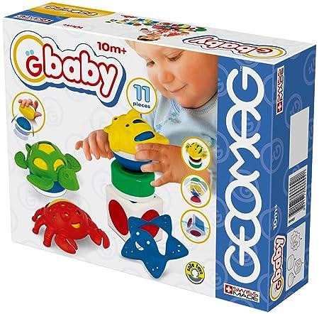Giochi preziosi - Geomag Baby - 6967 - Jeu éducatif Premier âge - Sea Medium
