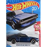 Hot Wheels 2018 50th Anniversary Nissan Skyline 2000GT-R, Blue (Super Treasure Hunt)