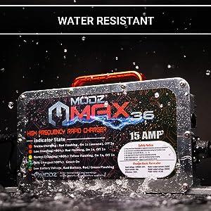 MODZ Max48 15 AMP EZGO RXV & TXT 48 Battery Charger for 48 Volt Golf Carts (Tamaño: 48V)