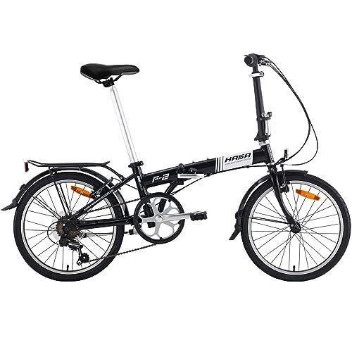 Hasa Folding Bike Sram 6 Speed