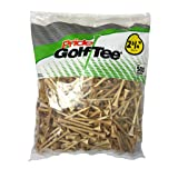 Pride Golf Tee, 2-3/4-Inch Deluxe Tee,  500 Count, Natural