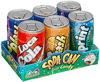 Soda Fizz Candy Soda Can Fizzy Candy 1.48 oz