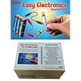 ProTechTrader Make: Easy Electronics Kit Bundle - Includes Paperback HandBook by Charles Platt and Electronic Components Pack
