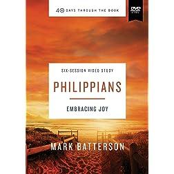 Philippians Video Study: Embracing Joy