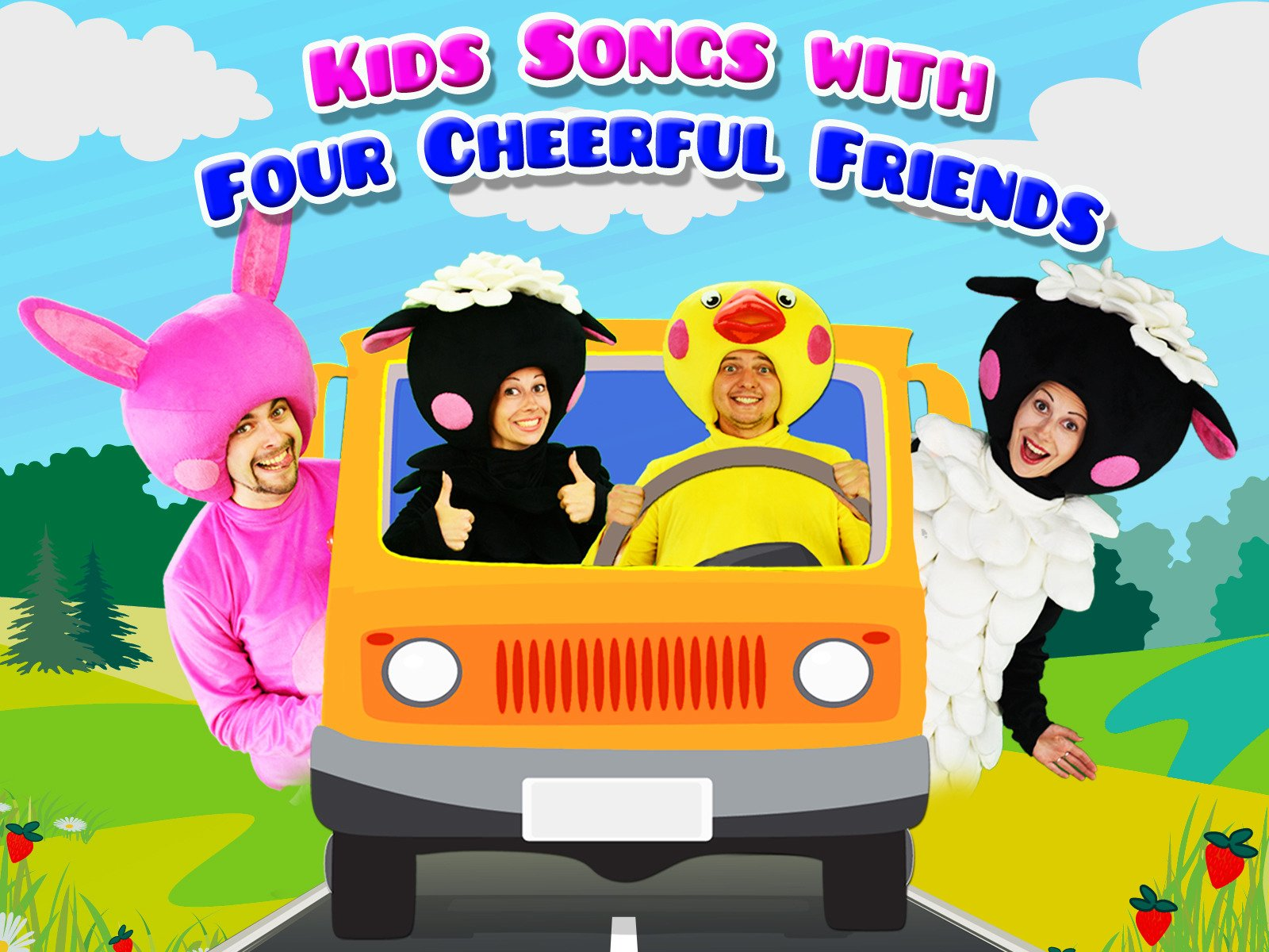 Kids Songs with Four Cheerful Friends - Season 1