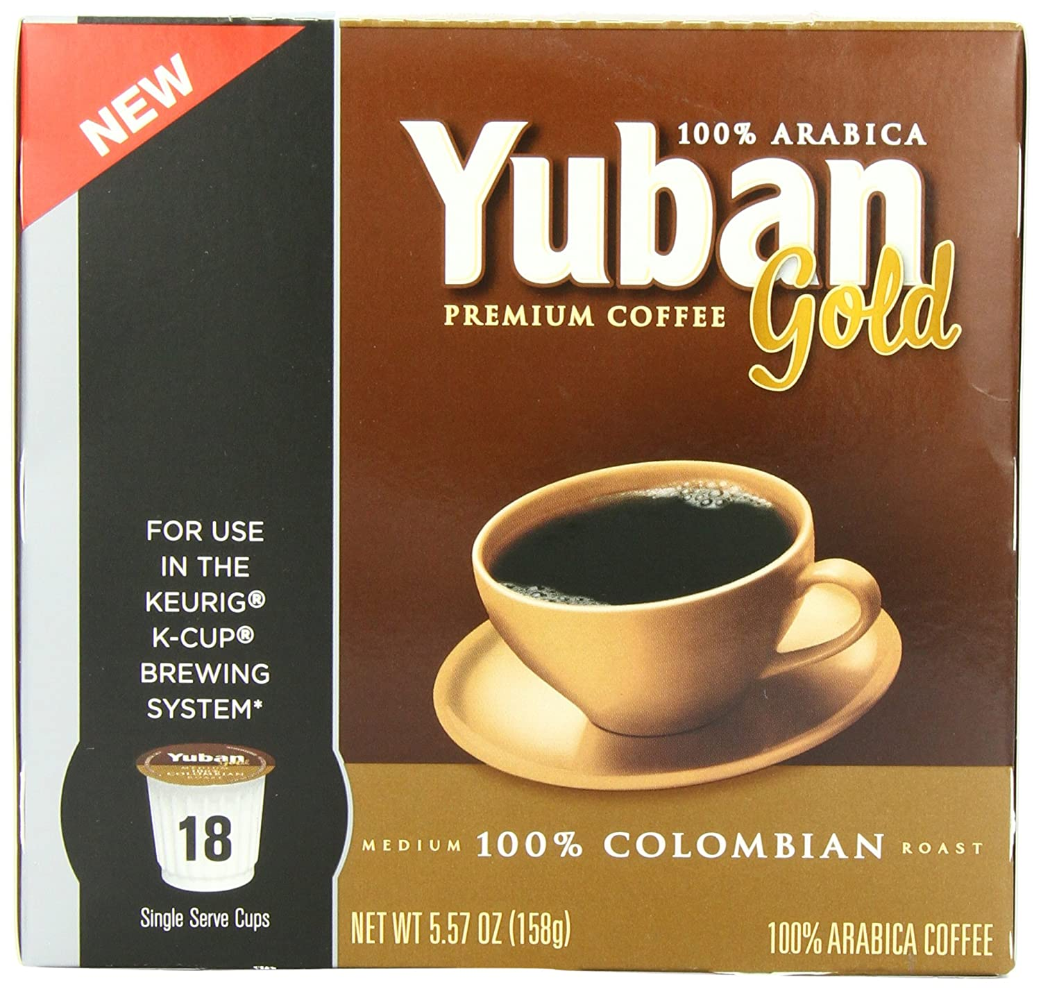 Yuban Colombian Coffee K Cup Packs 18 Count Dealfaves