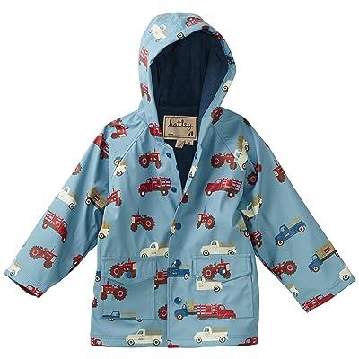 Hatley Farm Trucks Boy's Rain Coat