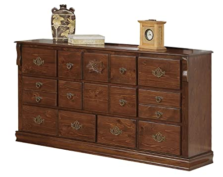 ACME 01725A Ponderosa Dresser, Walnut Finish