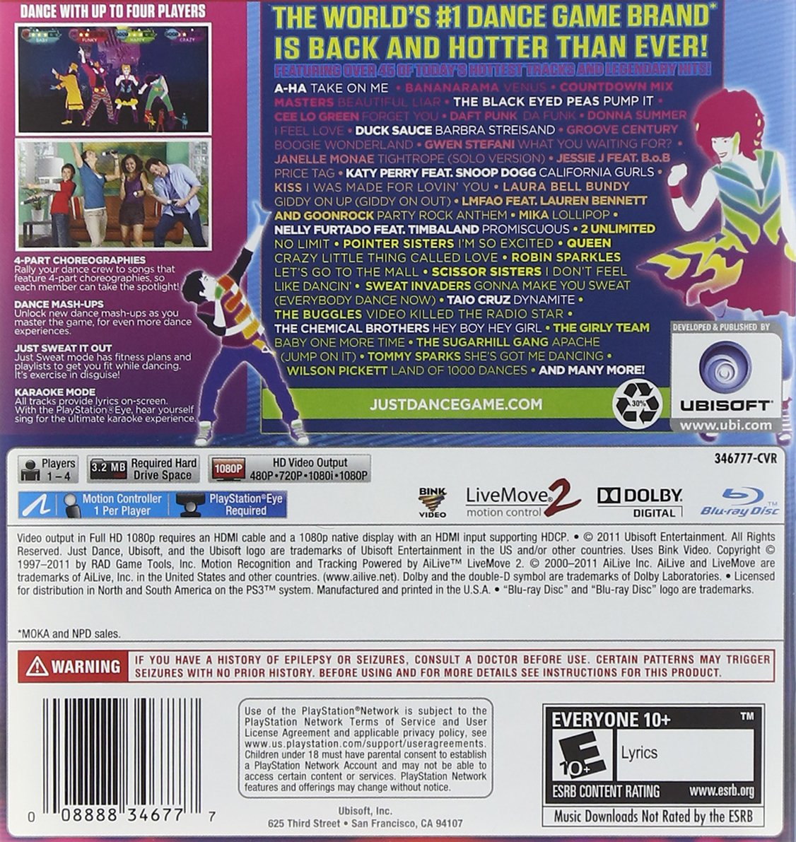 Buy Just Dance 3 (ps3) Online At Low Prices In India  Ubi Soft Video Games   Amazon