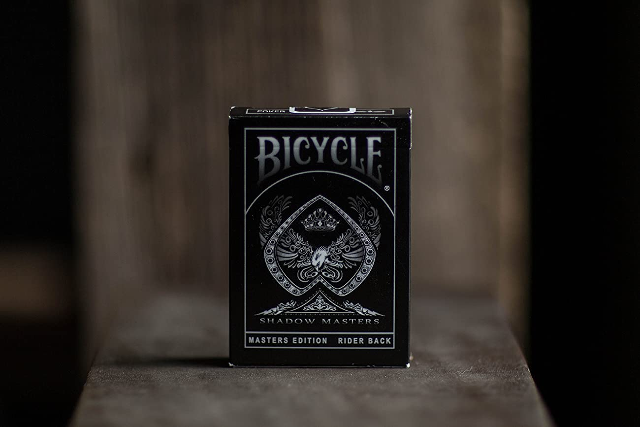 Ellusionist Bicycle Shadow Masters Playing Cards 2