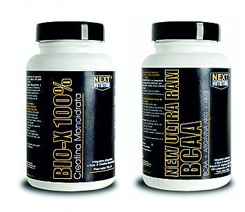 Aminosäuren BCAA mit Arginin AKG HMB 200 CPR + GR 200 Creatine Staub