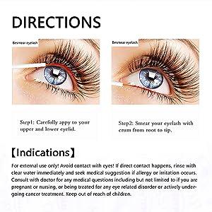 eb3ff4a2601 Eyelash Enhancer Hypoallergenic Natural Advanced Eyelash Growth Serum 5ml Eyelash  Growth Conditioner Enhances for Natural Lush ...