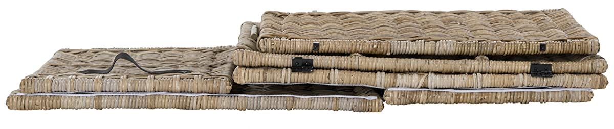 "happimess Michael 35"" Wicker Storage Trunk, Natural"