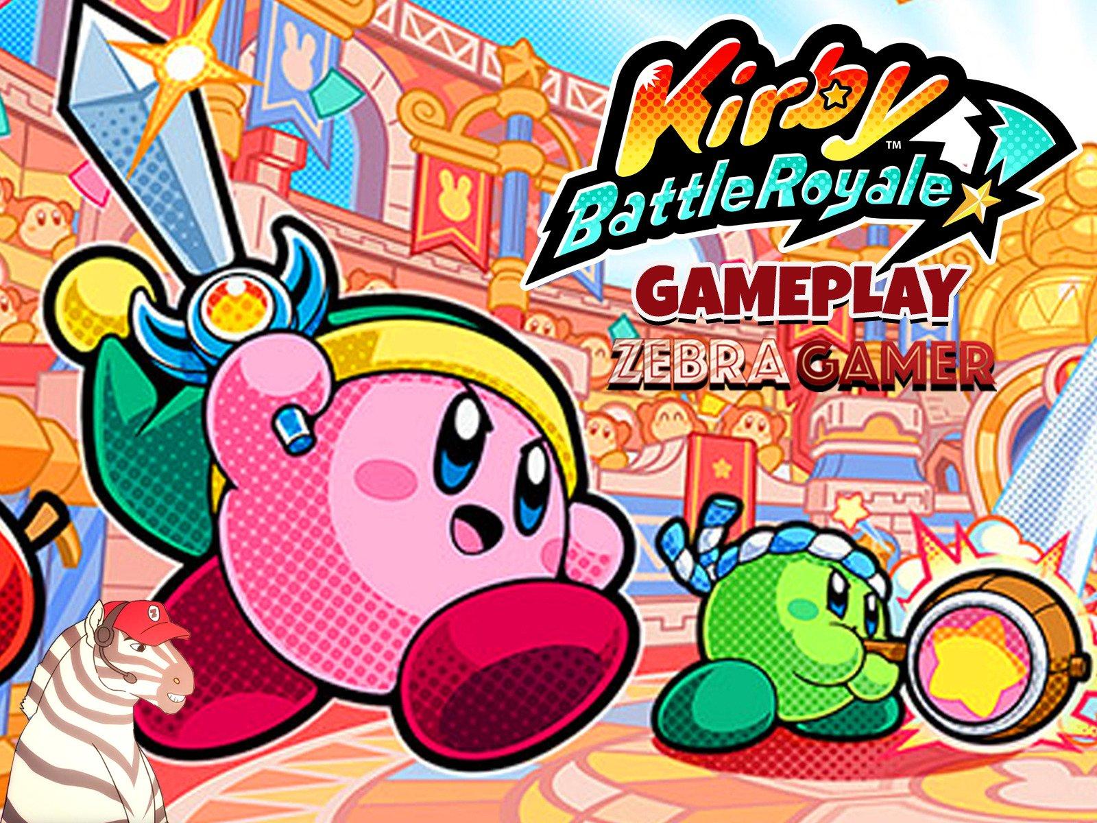 Kirby's Battle Royale Gameplay - Season 1