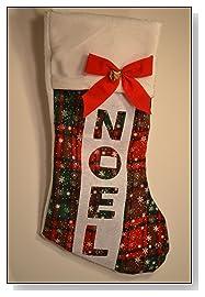 Dog Christmas Stocking Noel