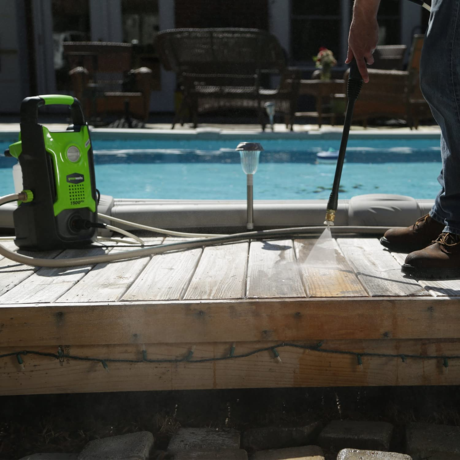Best Portable Electric Pressure Washers Reviews On