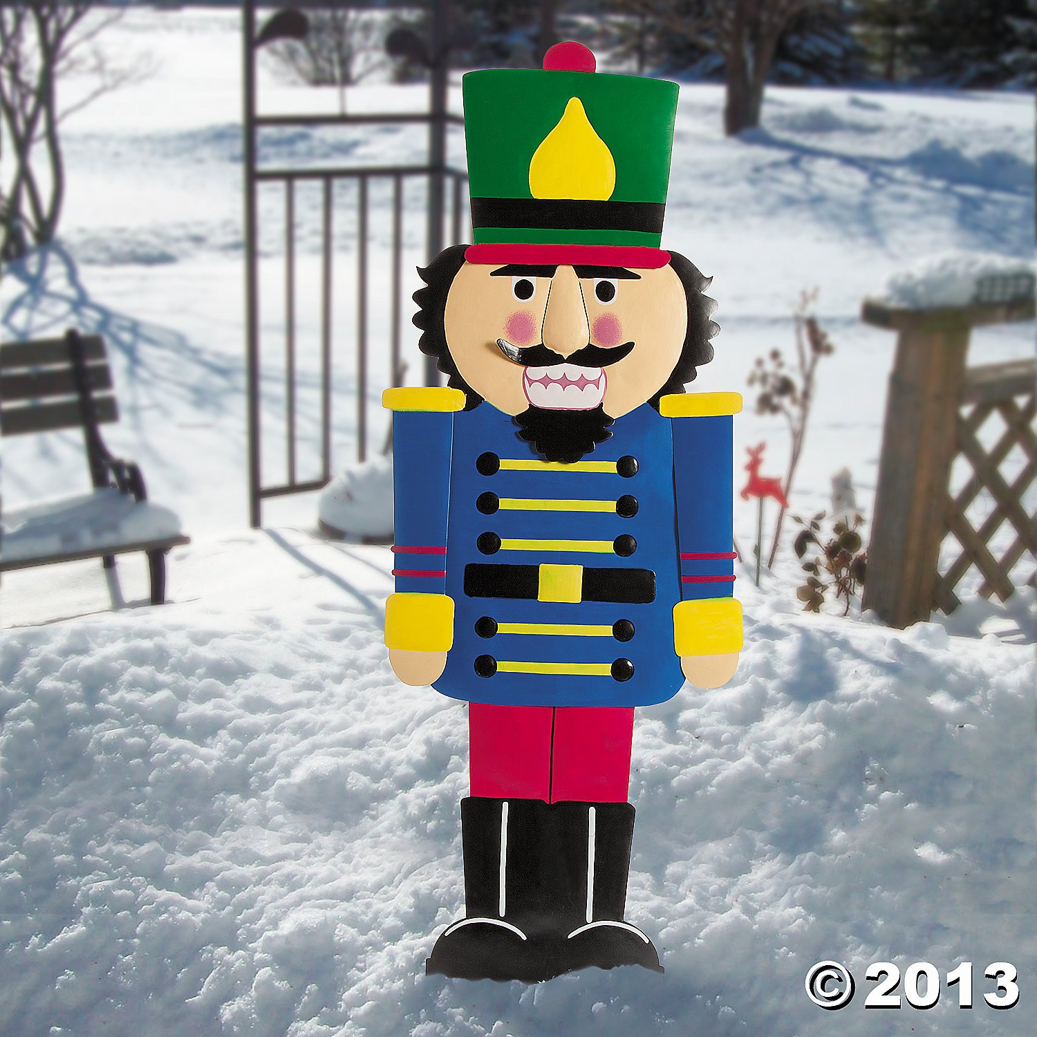 Nutcracker Outdoor Yard Stakes