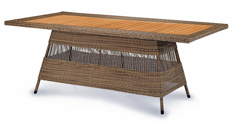 Best 42751890 Tisch Provence rechteckig 180 x 100 cm, natur