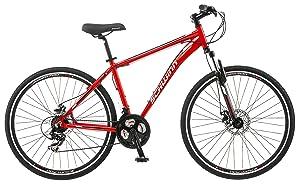 Schwinn Protocol 1.0-Men's Dual-Suspension, Best Single Speed Mountain Bike (26-Inch Wheels)