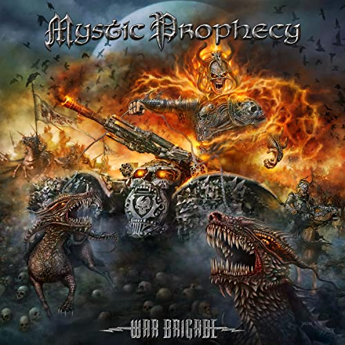 Mystic Prophecy - War Brigade (Limited Edition)