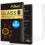 Ailun Screen Protector Compatible with iPad Air 1,iPad Air 2,iPad Pro,[2Pack],9.7 inch, 2.5D Tempered Glass,[Apple Pencil Compatible] Anti-Scratch,Case Friendly-Siania Retail Package (Color: Clear)