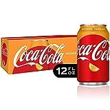 Coca-Cola Coke Orange Vanilla Soda, 12 fl oz, 12 pack